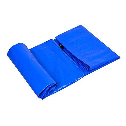 Preisvergleich Produktbild LXF Sheeting Abdeckung Mit Öse Wasserdicht Heavy Duty Plane Tarp Boden Blatt Deckt Schuppen Tuch Regensicher 175 G / M ² (größe : 8M×8M)