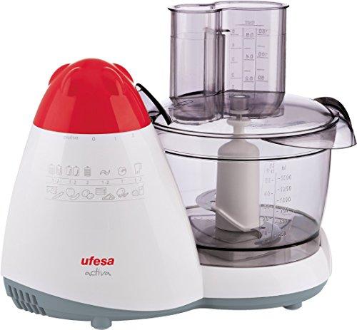 Ufesa Activa - Procesador de alimentos, 450 W, múltiples cuchillas y...