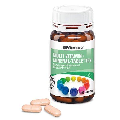 Multi Vitamin+Mineral-Tabletten   Nahrungsergänzung   ascopharm   100 Tabletten