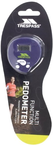 Trespass Metric Pedometer - Blue