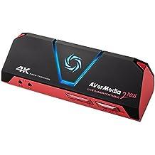 AverMedia GC513 Live Gamer Portable 2 Plus (LGP2 Plus) – Jetzt Los auf Youtube & Twitch – 4k Pass-Through, Plug & Play, Gameplay in 1080p60 Streamen und Aufnehmen, Party-Chat, PC-Free-Modus