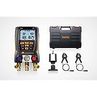 Testo 550Juego 05631550–Digital 094901021ayuda con Bluetooth + kleinsc hmidt GmbH magnético de smarphonehalter