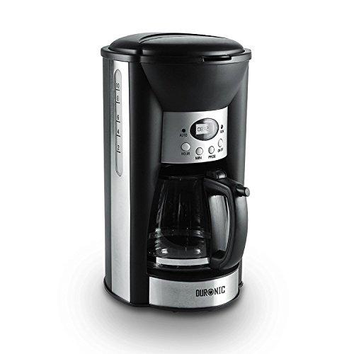 Duronic CM125 Macchina da caffè americano digitale automatica con timer e display 1.25L – 1000W