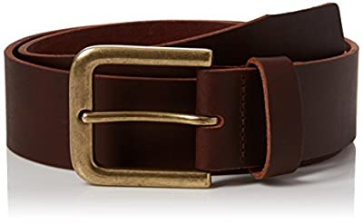 New Look Men's Leather Denim Belt