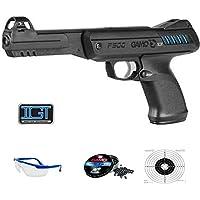 PACK pistola de balines Gamo P900 IGT - Sistema: aire comprimido (pistón) y plomos (perdigones 4.5) <3,5J
