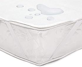 Sominue Wasserundurchlässige Matratzenauflage Atmungsaktiver Wasserdichter Matratzenschoner