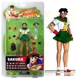 Figurine Action Capcom - Street Fighter - Round 3 - Sakura