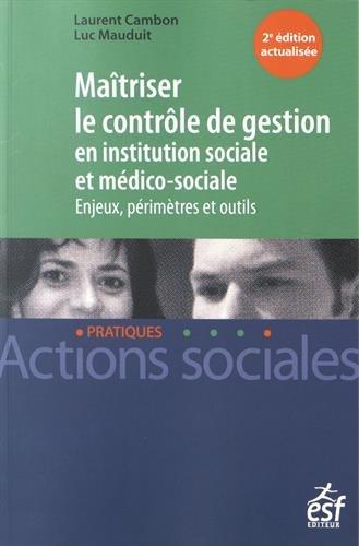 Maitriser le contrôle de gestion par Laurent Cambon