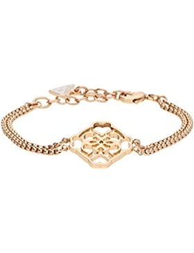 Guess Damen Armband Metall Rosegold UBB21563-S