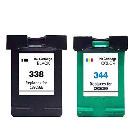 338 Tintenpatrone als Ersatz für Cartridge 1 x HP 338,1x