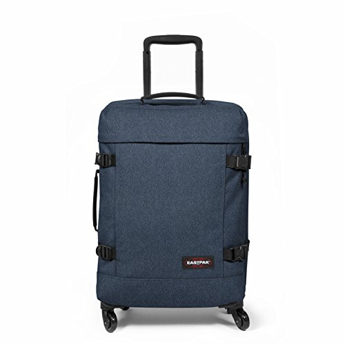 Eastpak Trans4 S Valise, 54 cm, 44 L, Bleu (Double Denim)