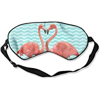 Flamingos Love 99% Eyeshade Blinders Sleeping Eye Patch Eye Mask Blindfold For Travel Insomnia Meditation preisvergleich bei billige-tabletten.eu