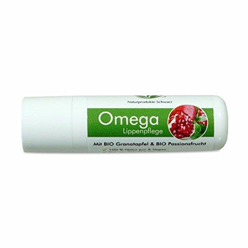 z - Omega Lippenpflege mit BIO Granatapfel & BIO Passionsfrucht - Vegan, ohne Mineralöl - 4,8g ()