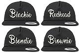 Youth Designz Baseball Kappe Snapback Cap Modell BLONDIE Schwarz