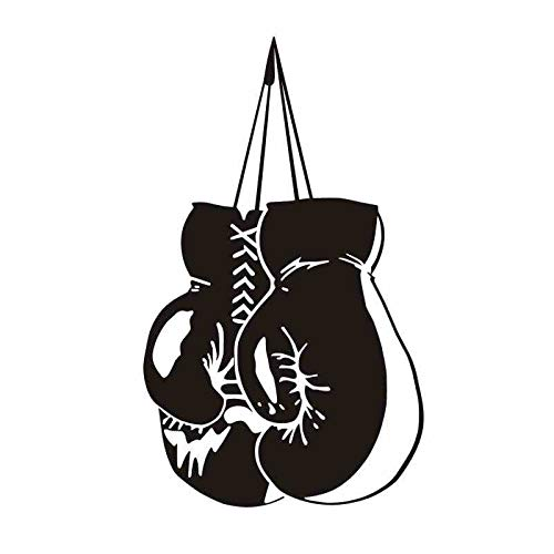 Njuxcnhg Boxing Arm Handschuh Aufkleber Kick Boxer Spielen Auto Aufkleber Free Combat Poster Vinyl Striker Wandtattoos Wanddekor 58x97 cm (Weste Rogue)