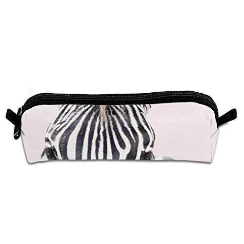 Zebra with Bubble Gum Pen Holder Stationery Pencil Pouch Cosmetic Bags/Pencil Bag Pen Case Cosmetic Makeup Bag Pen Pencil Stationery Pouch Bag Case (Bubble Kit Gum)