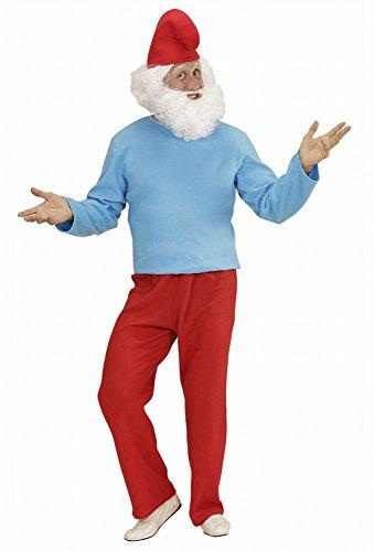 Imagen de widmann 02373  disfraz adulto grandes enanos, túnica, pantalones y sombrero, talla l