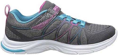 Skechers Swift Kicks Mädchen Sneakers Gris (Ccmt Gris/Muticouleur)