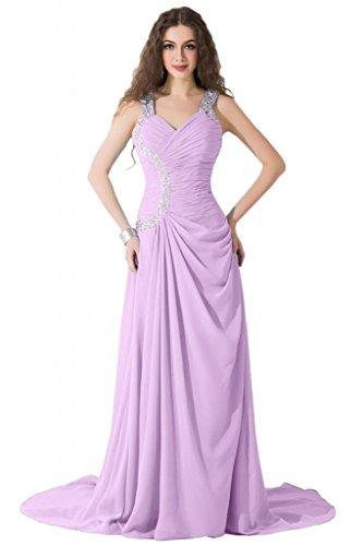 Sunvary modesta Spaghetti, cinghia e corsetto abiti per abiti da sera Pageant sera Lilac