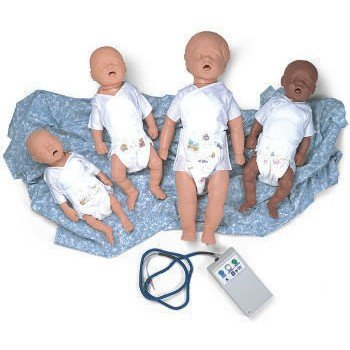 CPR Peadiatric Manikin Air Filled 6-9 Month Old Electronic Console