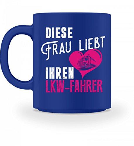Hochwertige Tasse - LKW-Fahrer Shirt · Lastwagen · LKW · Fahrer · Frau · Transport · Trucker · Beruf · Beziehung · Spruch · Pulli · Jacke · Hoodie · Tasse · Geschenk