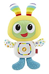 Fisher-Price Mi primer robot Robi, juguete de peluche bebé +6meses (Mattel DPL48)
