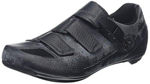 Shimano Rp5, Scarpe da Ciclismo Unisex-Adulto Black (black)