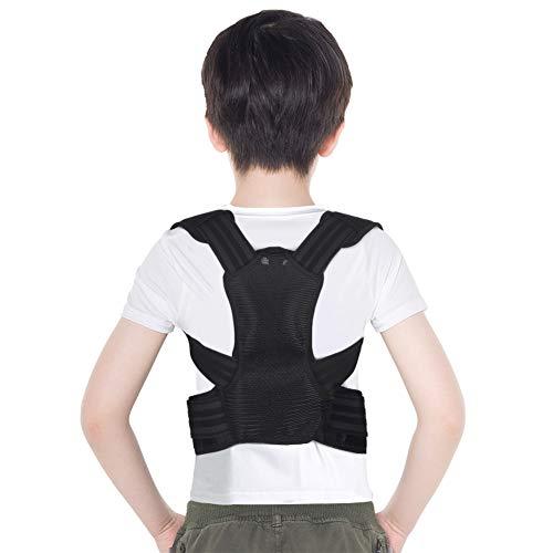 Corrector de Postura Espalda para Niños, Corrector de Postura Niños Adolescentes, Soporte de Espalda Niños, Ajustable Corrector Espalda Invisible para Niños, Alivio del dolor de Espalda