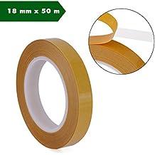 Doble cara cinta adhesiva, autoadhesivas, en ambos lados Stark adherencia adhesiva 18mm x 50m doble Dos cara montaje cinta adhesiva