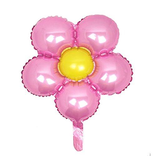 ULTNICE 18 Pouces Ballons d'hélium d'Engagement mariage décoration de partie (fleur conçu)