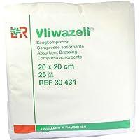 VLIWAZELL Saugkompressen 20x20 cm unsteril 25 St Kompressen preisvergleich bei billige-tabletten.eu
