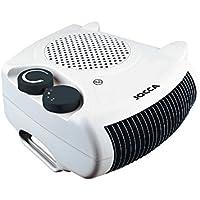 Jocca 2826 - Calefactor plano/pie, color blanco