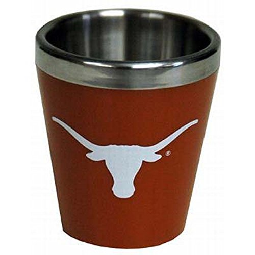 Jenkins Enterprises Texas Longhorns Schnapsglas, Acryl, gebranntes Orange Ut Burnt Orange