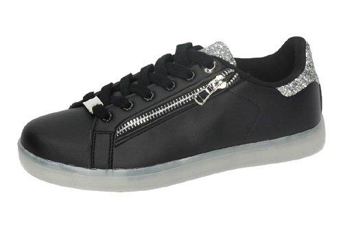 DEMAX , Chaussures de fitness pour femme Noir