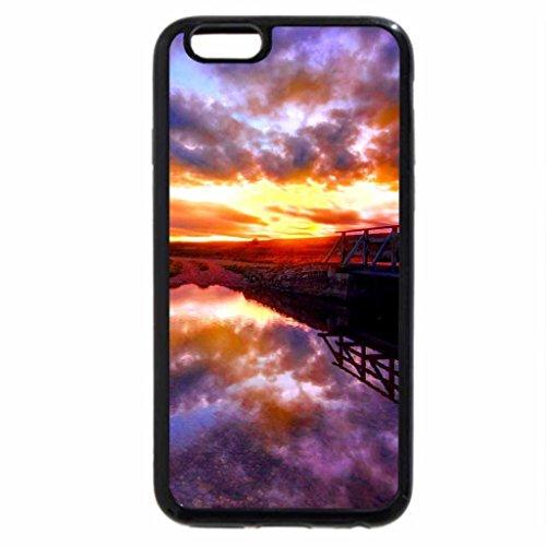 iPhone 6S / iPhone 6 Case (Black) EVENING BEAUTY