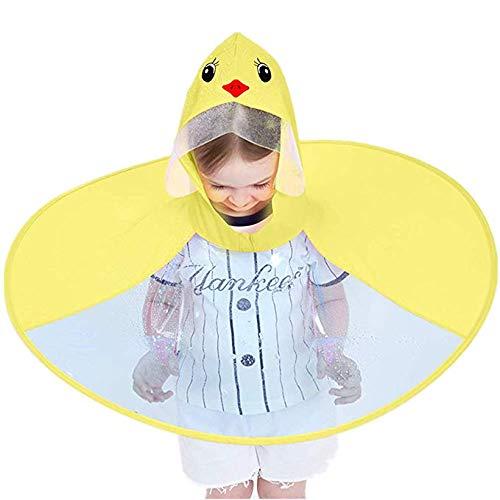 DB berretto ombrello per bambini con cappello magico impermeabile in PVC