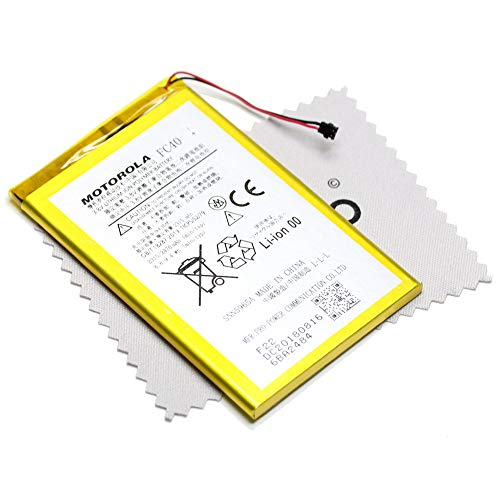 Batteria Originale per Motorola FC40 per Motorola Moto G (3. Gen - 2015) 2315 mAh + Panno di Pulizia per Display mungoo