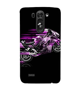 For LG G3 S :: LG G3 S Duos :: LG G3 Beat Dual :: LG D722K :: LG G3 Vigor :: LG D722 D725 D728 D724 bike Printed Cell Phone Cases, sports Mobile Phone Cases ( Cell Phone Accessories ), speed Designer Art Pouch Pouches Covers, race Customized Cases & Covers, boys Smart Phone Covers , Phone Back Case Covers By Cover Dunia