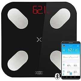 picooc Mini, Intelligente corpo Analisi di Libra, bilancia pesapersone, Bluetooth, Android, iOS (Apple), 26x 26cm