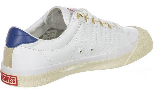 K-Swiss Irvine OG 50th chaussures blanc bleu rouge