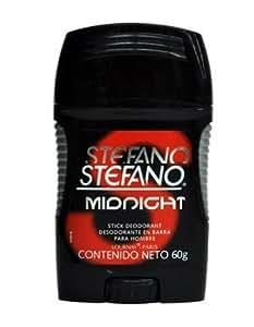 Stefano Stick Deodorant for Men 2.5oz, Desodorante Estefano Barra 60gr (Midnight) by Lournay Paris