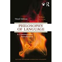 Philosophy of Language (Routledge Contemporary Introductions to Philosophy)