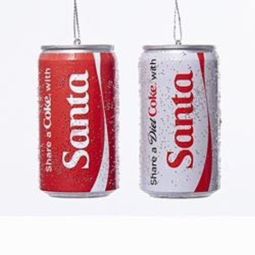 kurt-adler-share-a-coke-with-santa-classic-and-diet-coke-can-ornaments-by-coca-cola