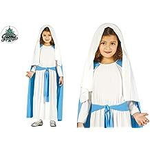 Disfraz de virgen María infantil 3-4 años