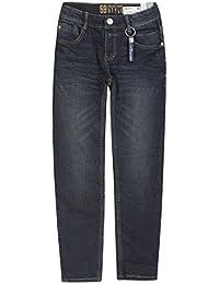 Lemmi Hose Boys Tight Fit Big, Jeans Garçon, Bleu