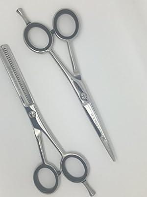 Beard Care Kit - Perfect Gift Set for Men Beard Thinning & Cutting Scissors (5.5 Inch /14cm) with Presentation Case SRESET Sandbros