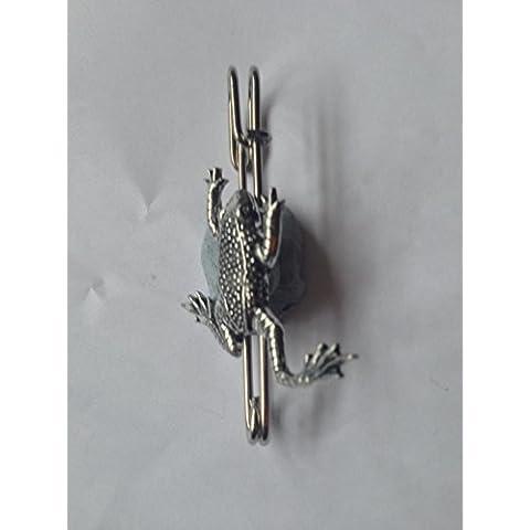 C11Leaping Rana Kilt Pin Sciarpa o spilla in peltro emblema 3