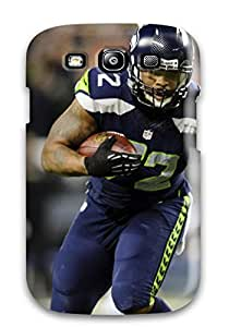 RobertWRay Case Cover Protector Specially Made For Galaxy S3 Seattleeahawks J