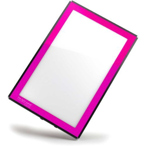 Porta-Trace LED Light Panel, Pink Frame, 11-by-18-Inch by Gagne Gagne Porta-trace Led