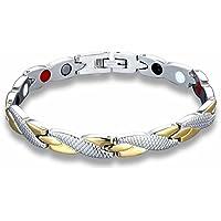 Demana Verdrehtes gesundes magnetisches Armband für Frauen-Power-Therapie-Magneten Armbänder Armreifen für Frauen... preisvergleich bei billige-tabletten.eu